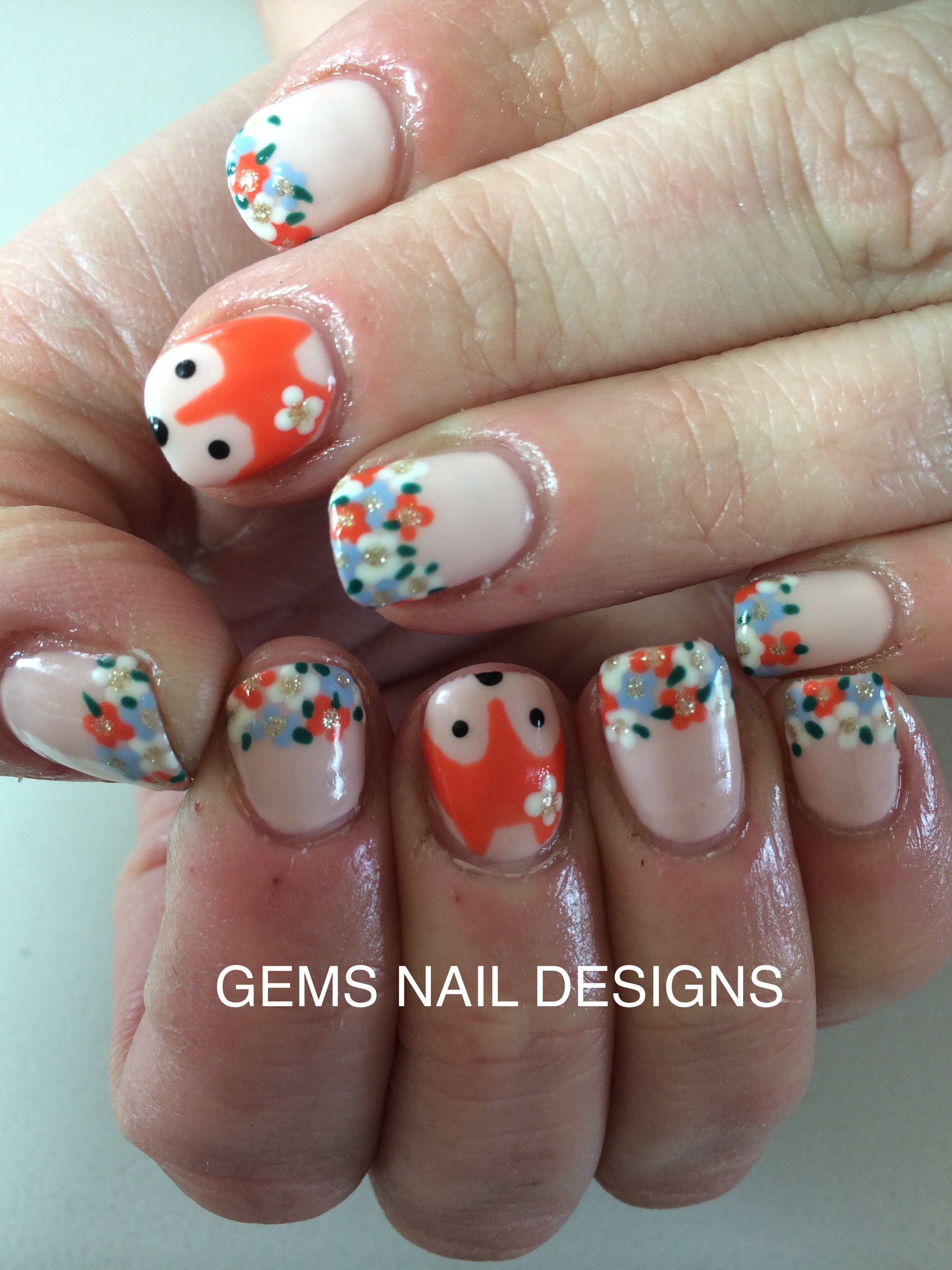 Portfolio | gems nail designs